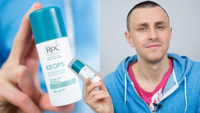 Как избавиться от запаха пота? ROC KEOPS - дезодорант для тех кто не любит антиперспиранты и воротит нос от обычных дезодорантов. Содержит в составе Citronellyl Methylcrotonate - ловушку неприятного запаха. Больше никаких блокировок потоотделения и тошнотных запахов масс-маркет.